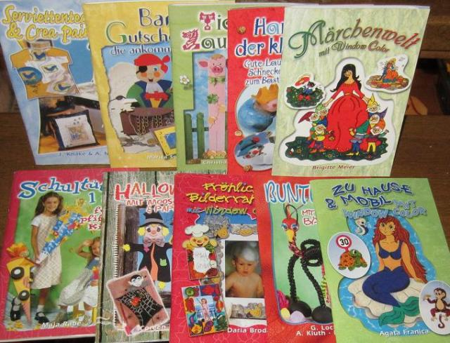 Bücher Großhandel: Bastelbücher - viele Themen - Verlagsneu