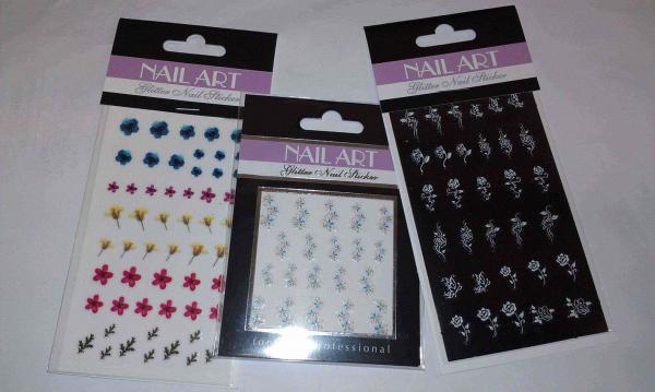 Fingernagel-Sticker, Nailsticker, Naildesign (12550408) - RESTPOSTEN ...