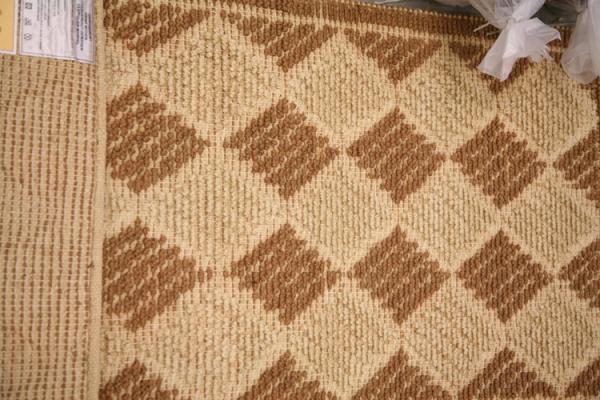 Handgewebter Teppich in Brauntönen (12385706)  RESTPOSTENde