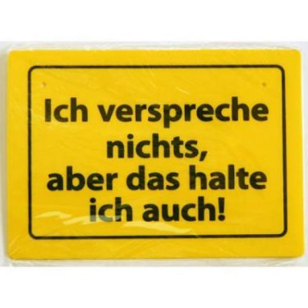 schild mit spr chen 15 x 10 cm witzig cool. Black Bedroom Furniture Sets. Home Design Ideas