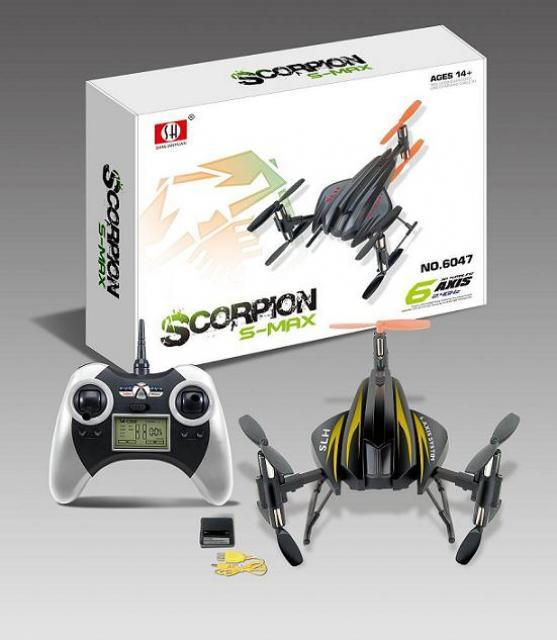 Scorpion 6047A 2,4GHz, 4Kanal, 6 Achsen