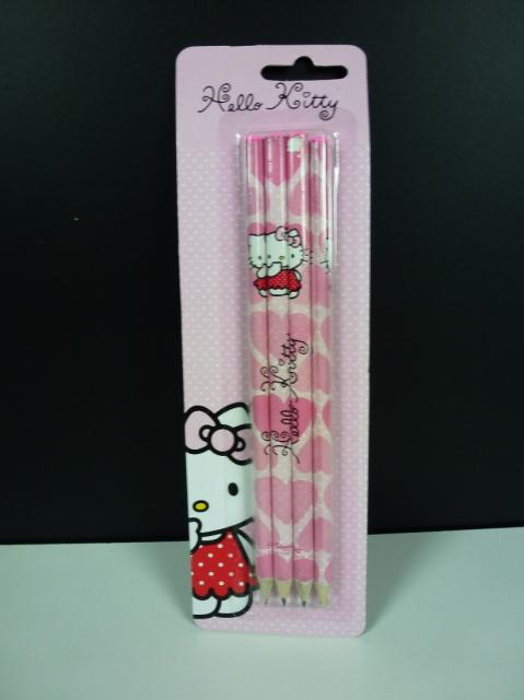 Hello Kitty Bleistifte 4er Pack