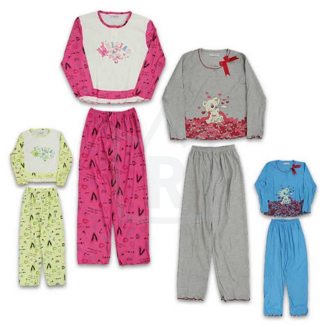 Mädchen Jungen Schlafanzüge Pyjamas 4-14 J. je 2,79 EUR
