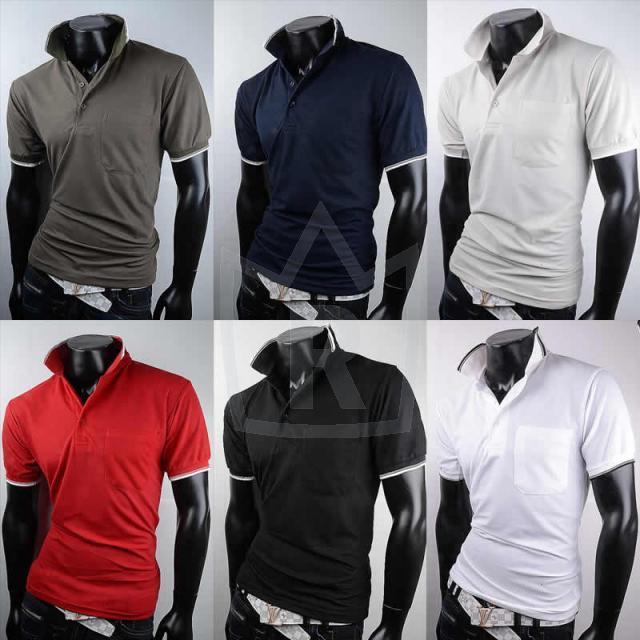 Modische Herren Polo Shirts Gr. M-XXL je je 3,75 EUR