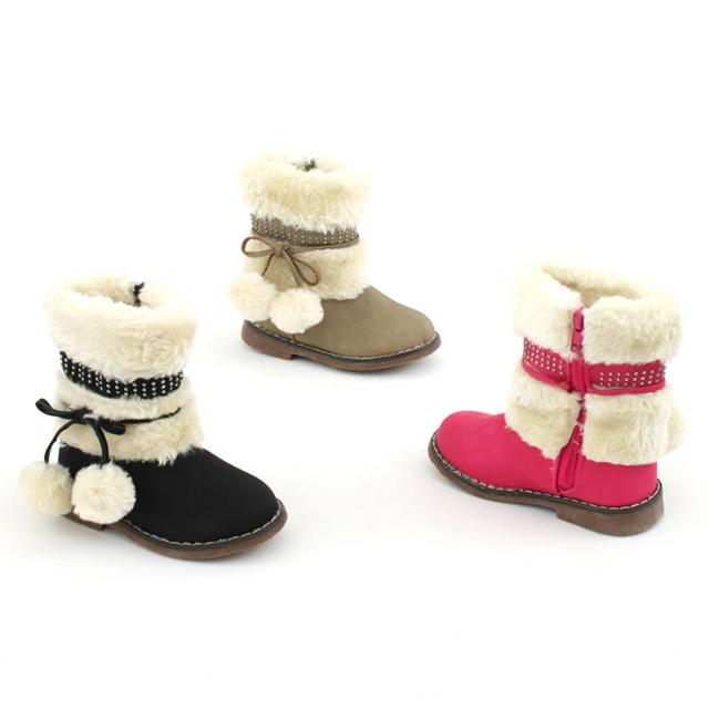 Mädchen Fell Stiefel Schuhe Gr. 19-24 je 9,90 EUR