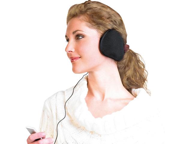 Ohrwärmer mit Kopfhörer Ohrhörer Musik Winter warme Ohren MP3 Player Ohrschützer