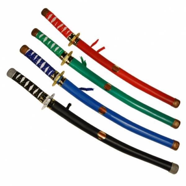 10-541819, Ninja Schwert, 60 cm, in Scheide, tolle Aufmachung, Säbel, Kostüm