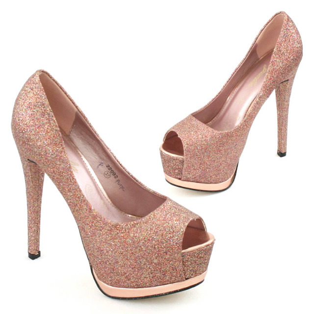 Pumps High Heels Plateau Gr. 36-41 je 9,95 EUR