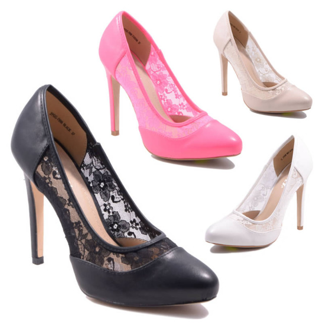 Pumps High Heels Schuhe Gr. 36-41 je 13,50 EUR