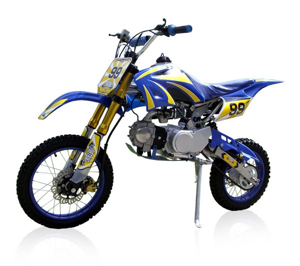 Cross Bike 125cc - 17/14 - Upside Down Dirtbike Dirt Bike Crossbike Pocketbike Pit Bike Pitbike