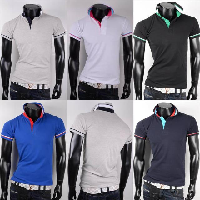 Sport Freizeit Polo T-Shirts Mix Gr. M-3XL je 6,50 EUR