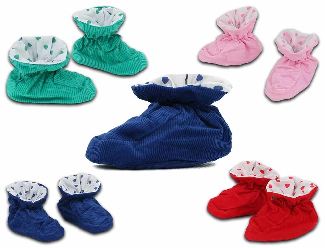 240 Paar Baby Schuhen Krabbelschuhe Hausschuhe Farbmix nur 0,79 Euro
