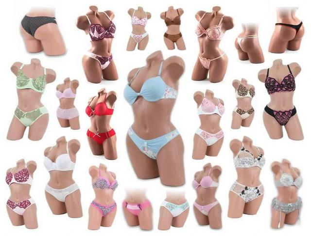 150 Sexy BH Sets Spitze Bügel Top Push Up Slips Dessous Mix BH Cup A bis D nur 2,45 Euro