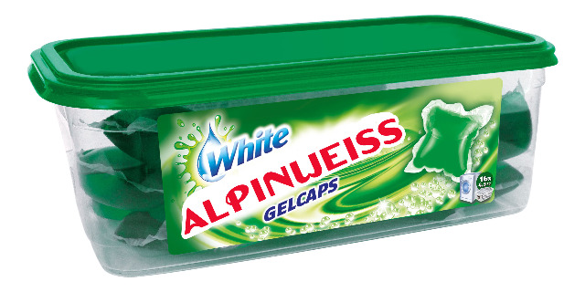 Alpinweiss - White oder Color Gel Caps 16stk/dose