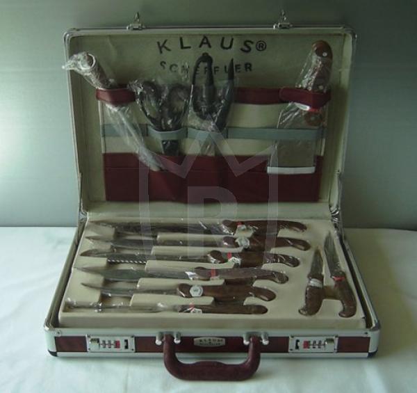 Messerset 25 teilig im Alu Koffer