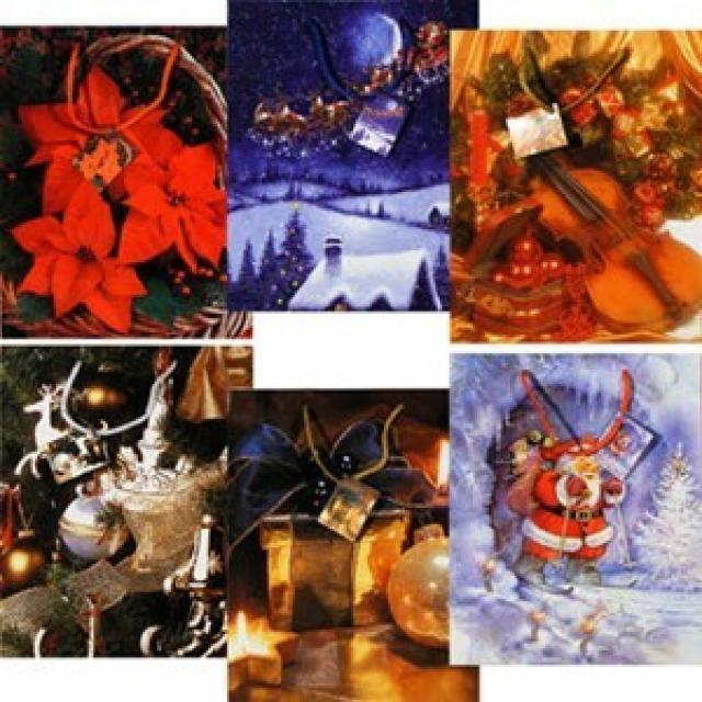 28302269, Weihnachts Geschenktasche 26 x 33 cm (12436734