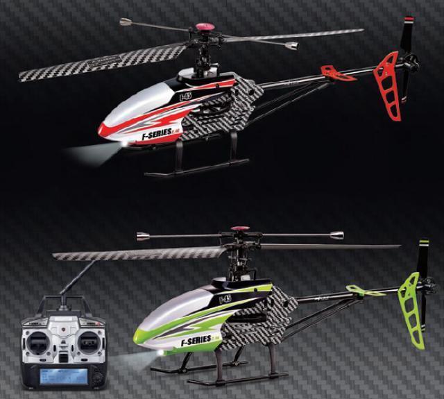 Gyro R/C Helikopter 4,5 Kanal 2,4 GHz F645 F45