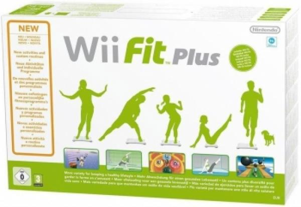 Nintendo Wii Fit Plus + Balance Board