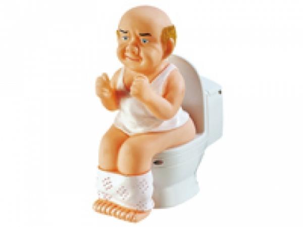 !Playtastic Sprechender, sich windender Toilettenmann