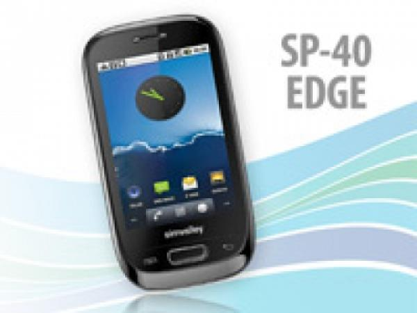 Simvalley Mobile SP-40 Dual-SIM Handy mit EDGE