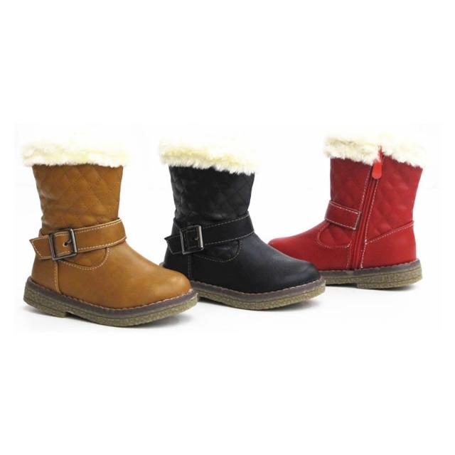 Kinder Fell Stiefel Schuhe Boots Gr. 25-30