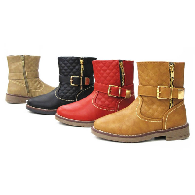 Kinder Mädchen Stiefel Schuhe Boots Gr. 31-36