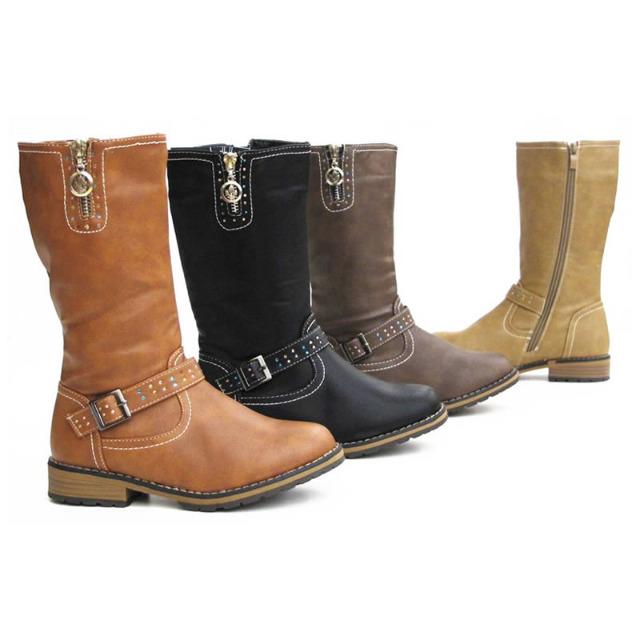 Kinder Mädchen Stiefel Schuhe Boots Gr. 27-32