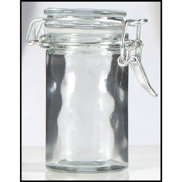 28-024831, Vorratsglas 100 ml, Gummidichtung, Bügelverschluß ...
