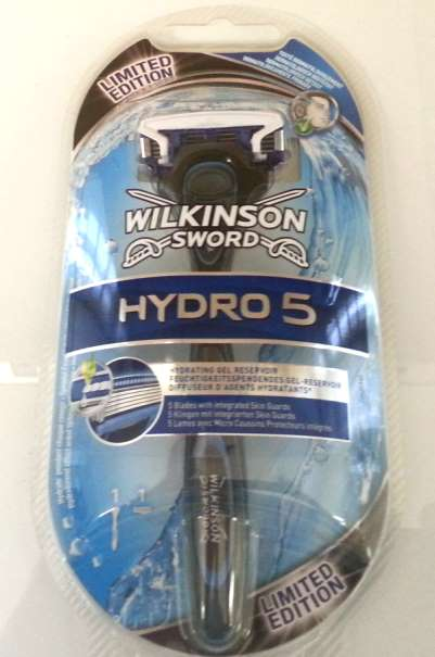 WILKINSON SWORD HYDRO 5 RASIERER MIT KLINGE - LIMITED EDITION BLACK