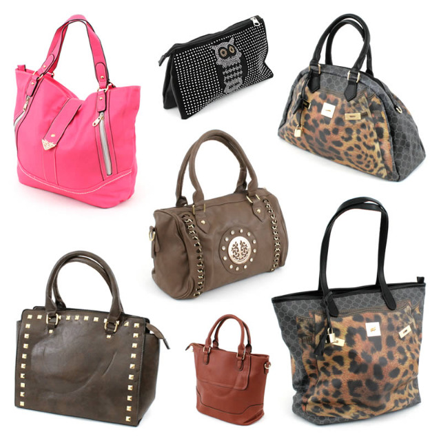 !Mega Mix Damen Hand Trage Tasche Shopper Bag