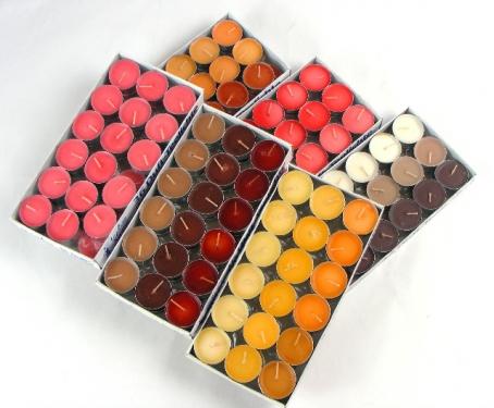 28-403941, farbige Teelichter 36er Pack, - SONDERPOSTEN