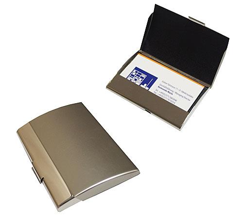 Luxus Visitenkartenetui Visitenkartenbox Metall - SMART -