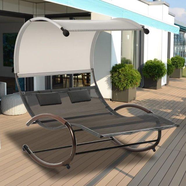 Garten Schaukelliege: Restposten Baumarkt Discounter Aldi Lidel Lounge