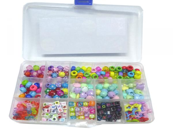 Loom Charms und Beads, 300 Teile