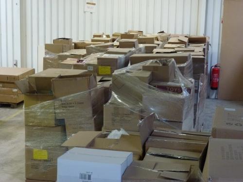 Restpostenpaletten mit Markenwaren - Lagerräumung zu MEGA Tiefstpreisen -ALLES NEUWARE
