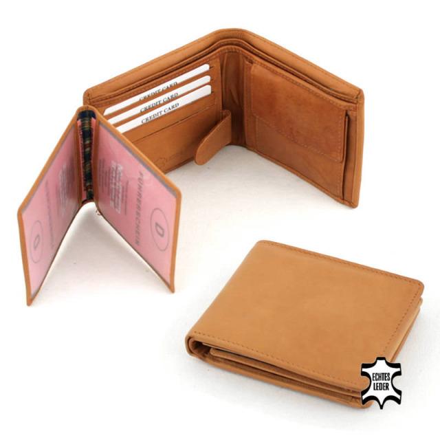 Echt Leder Geldbörsen Portemonnaies Brieftasche