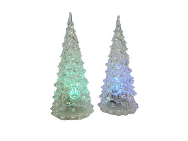 12 71006 led acryl weihnachtsbaum 12 cm mit farbwechsel. Black Bedroom Furniture Sets. Home Design Ideas