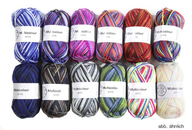 """17-91242, Garn """"Ingrid"""" Multicolor, 50g Knäuel"""