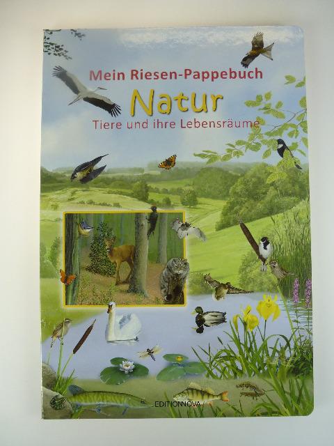 12-9200098, XXL Mein Riesen-Pappebuch - Tiere und ihre Lebensräume, 50 x 34 cm