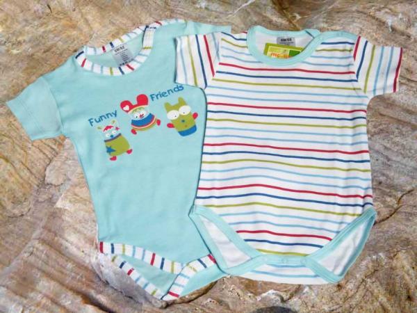 Stocklot Baby Body für Mädchen und Jungen Kurzarm
