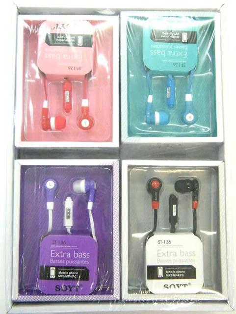 Handy Headset Extra Bass Kopfhörer Ohrhörer MP3 MP4 PC