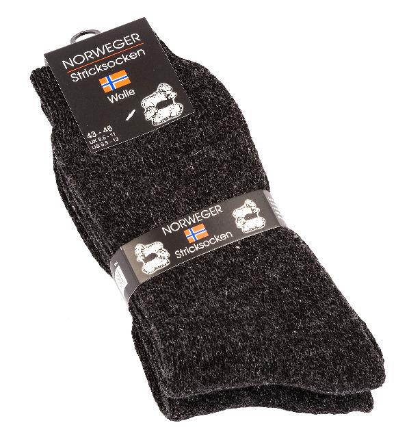 Herren vollplüsch NORWEGER-Socken extrem dick und warm
