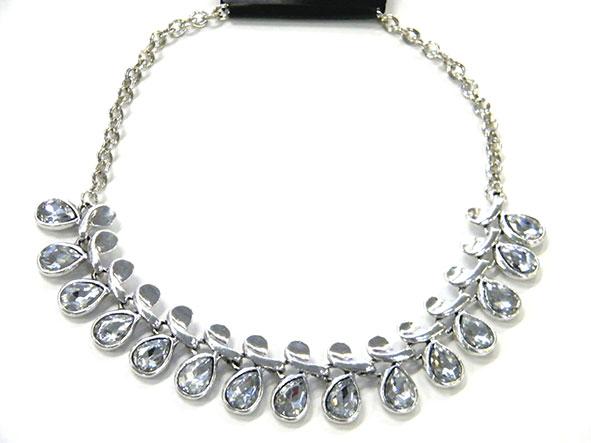 Damen Schmuck Halskette Modeschmuck Ketten Kette Nr-223