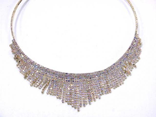 Collier Halskette Kette Schmuck Modeschmuck Gold Nr-121