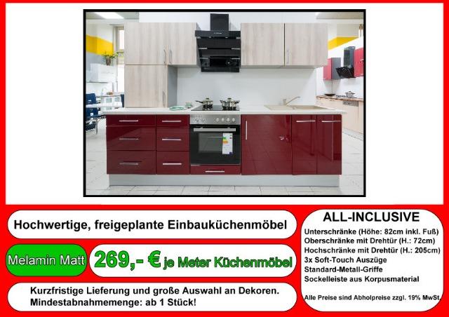 meterpreis für küchen - kuchen fliesenspiegel.com - Küche Nach Meterpreis