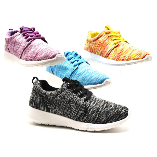 Damen Freizeit Sport Schuhe Sneaker Slipper