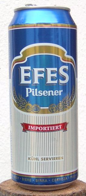 Lebensmittel & Getränke Großhandel: Efes Pilsener Bier 0,5 Liter Dose Getr�nk Sonderposten