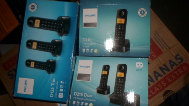 Philips Haustelefone Telefon B- und C-ware mix (Saturn Restposten) 1er 2er 3er