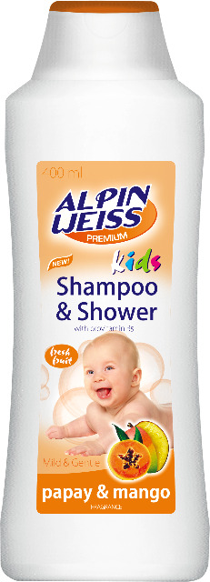 Kindershampoo & Duschgel - Mango Papaya 400ml