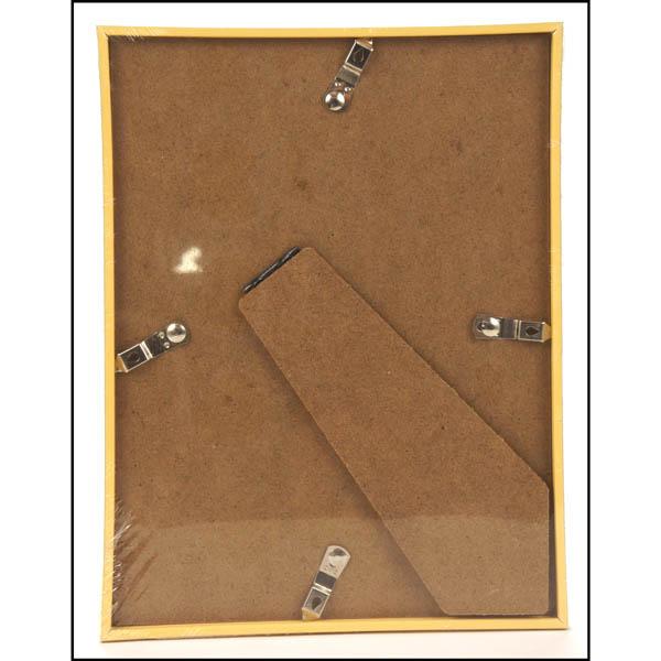 28 083039 bilderrahmen 18x24 cm golden kunststoff glas. Black Bedroom Furniture Sets. Home Design Ideas